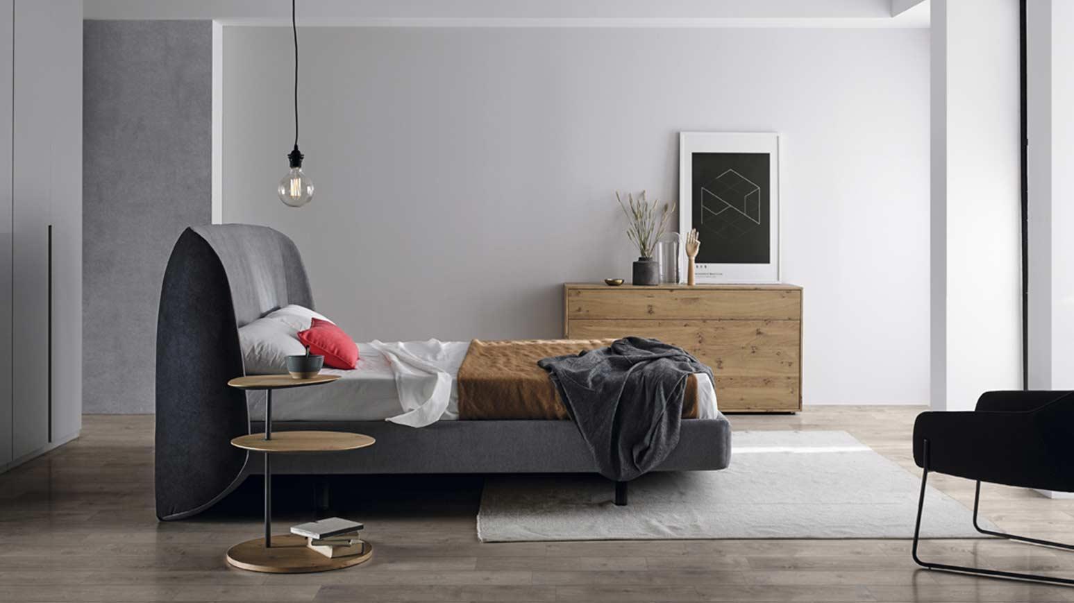 Cama para dormitorio moderno