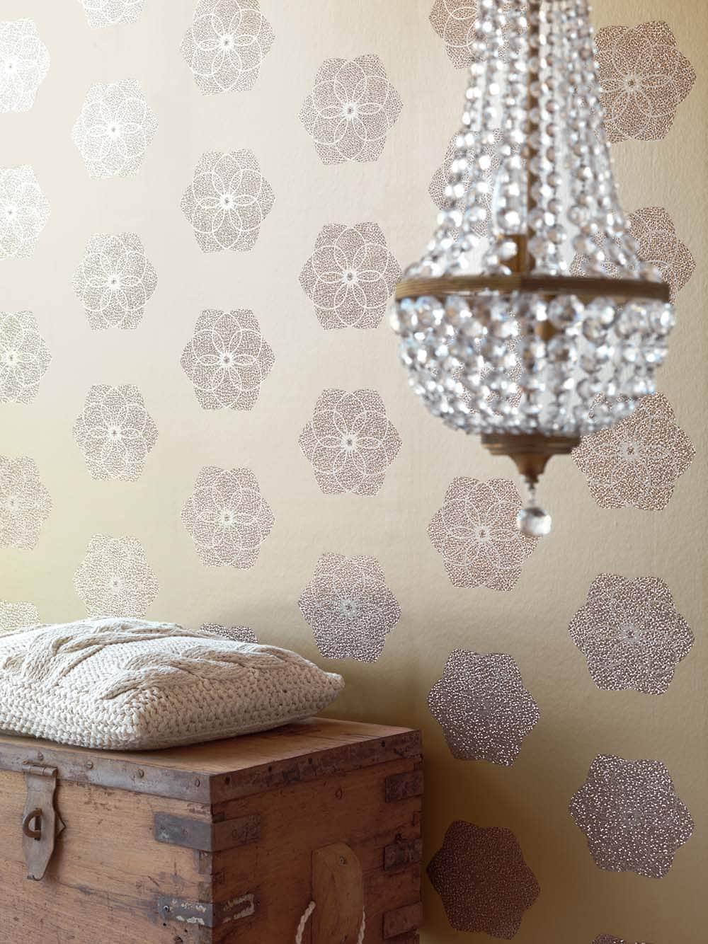 Dormitorio de matrimonio papel pintado