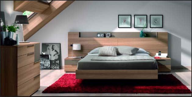 habitacion pequeña con buhardilla