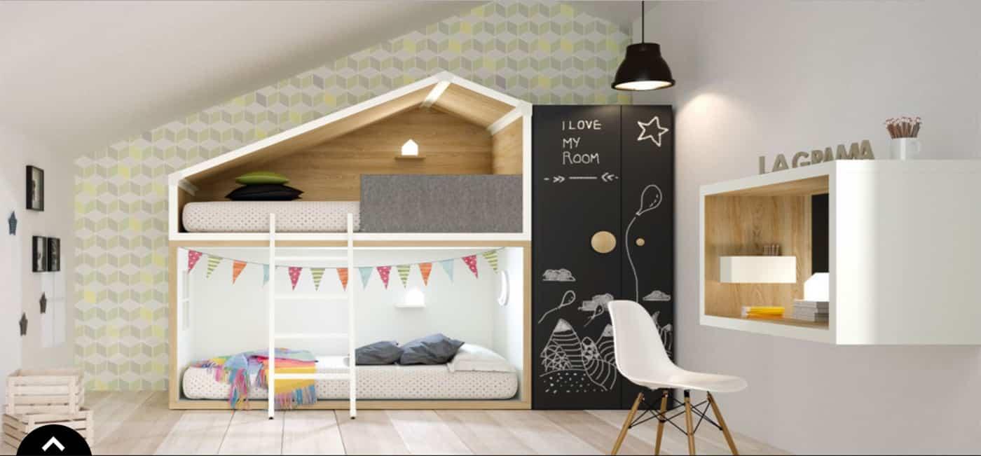 decoracion hogar habitacion infantil