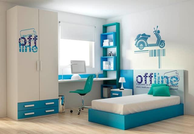 tematica viaje en dormitorio