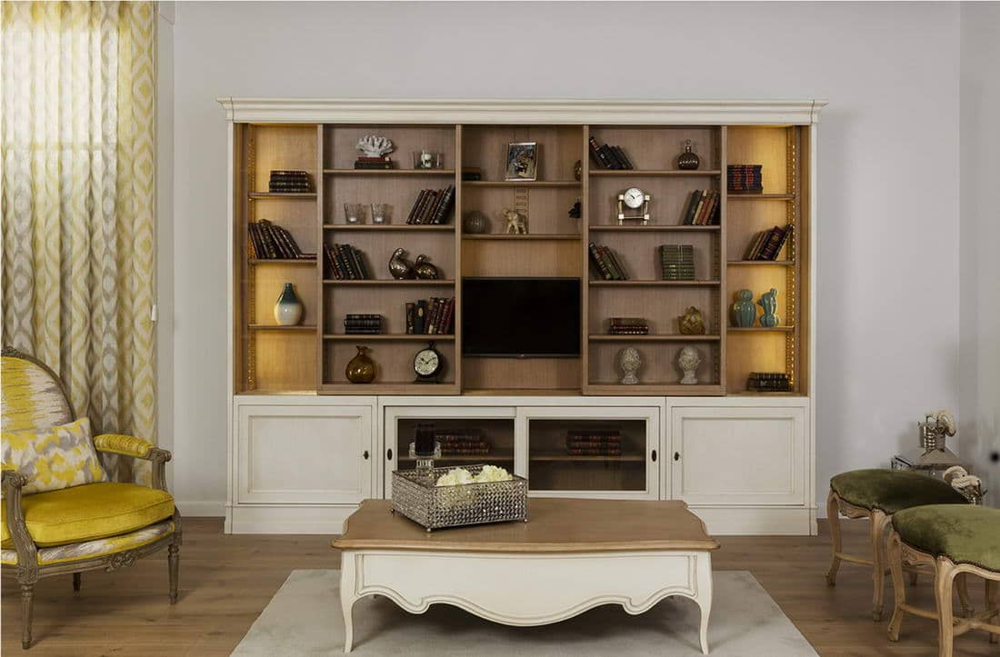 Muebles de sal n cl sicos en zaragoza r stica ambientes for Muebles de salon zaragoza