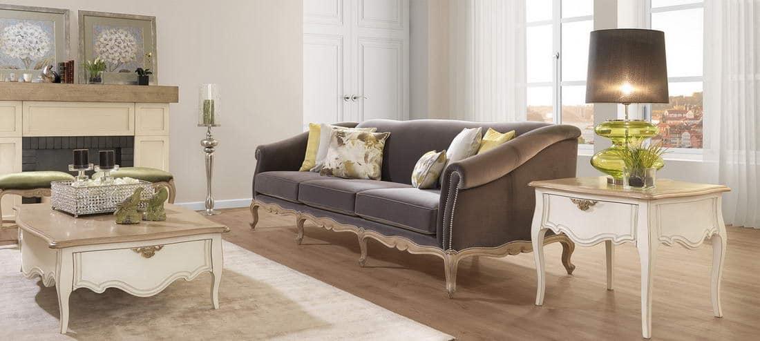 Muebles de sal n cl sicos en zaragoza r stica ambientes - Muebles de salon clasico ...