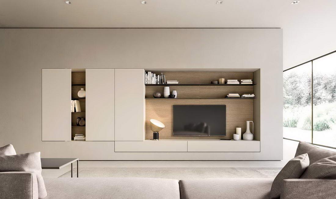 Muebles de sal n de dise o en zaragoza r stica ambientes - Diseno salon ...