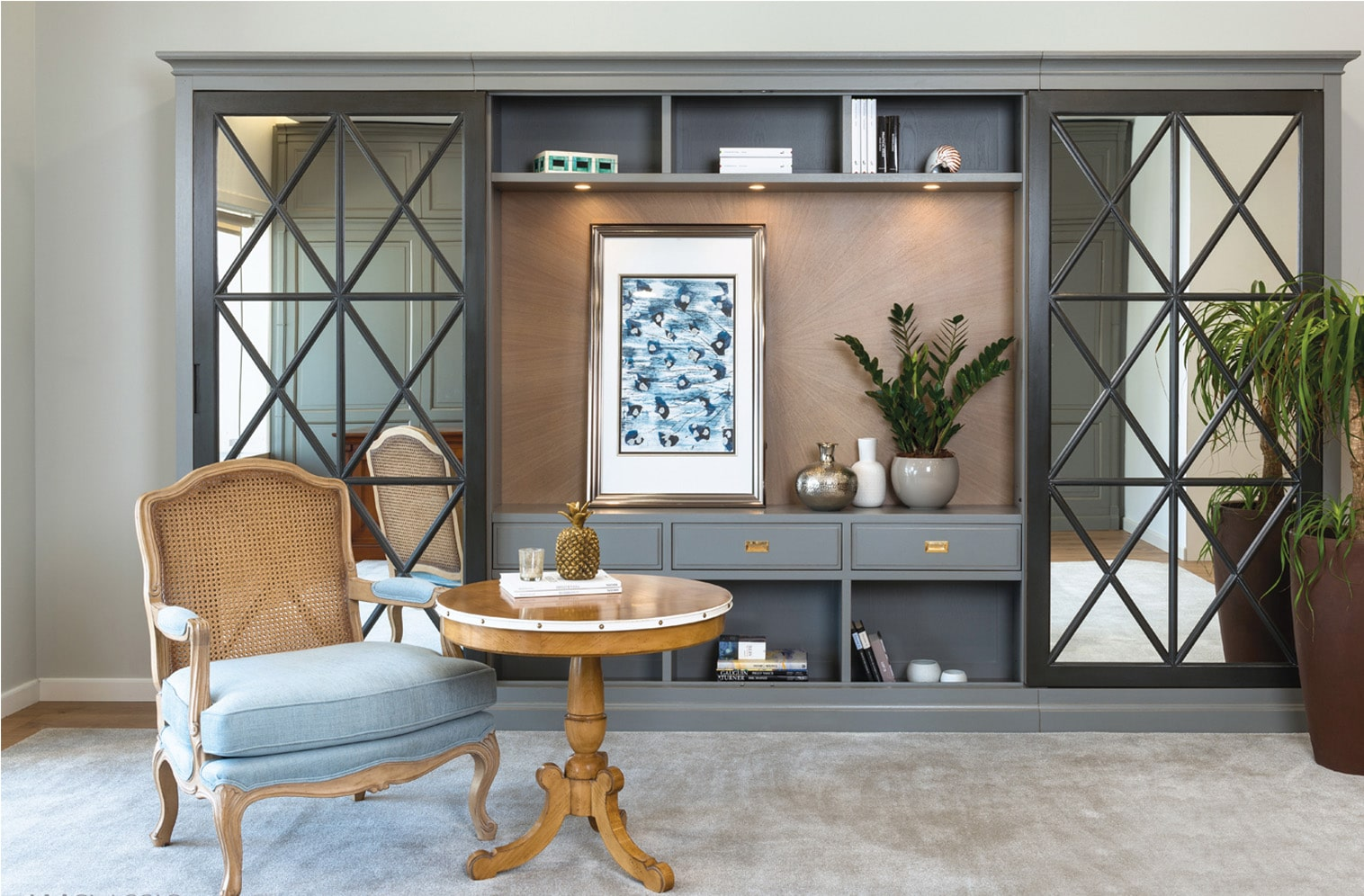 Muebles De Salon Clasicos En Zaragoza Rusticaambientes - Decoracion-salon-clasico