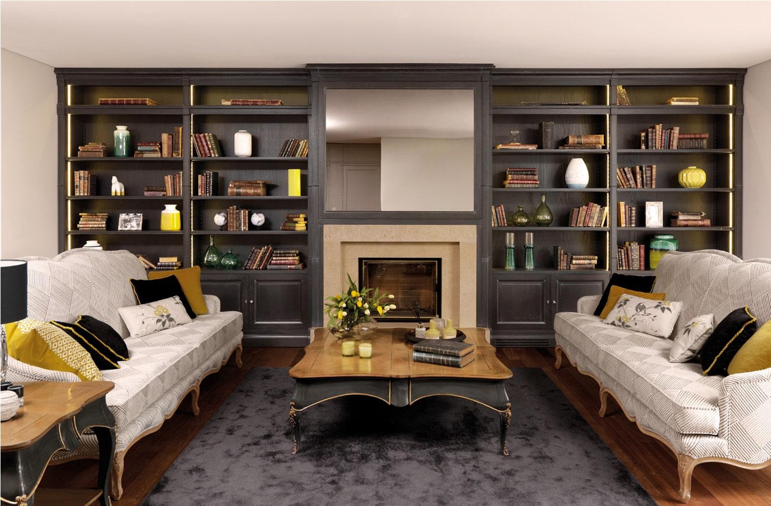 muebles de Salón clásico 5