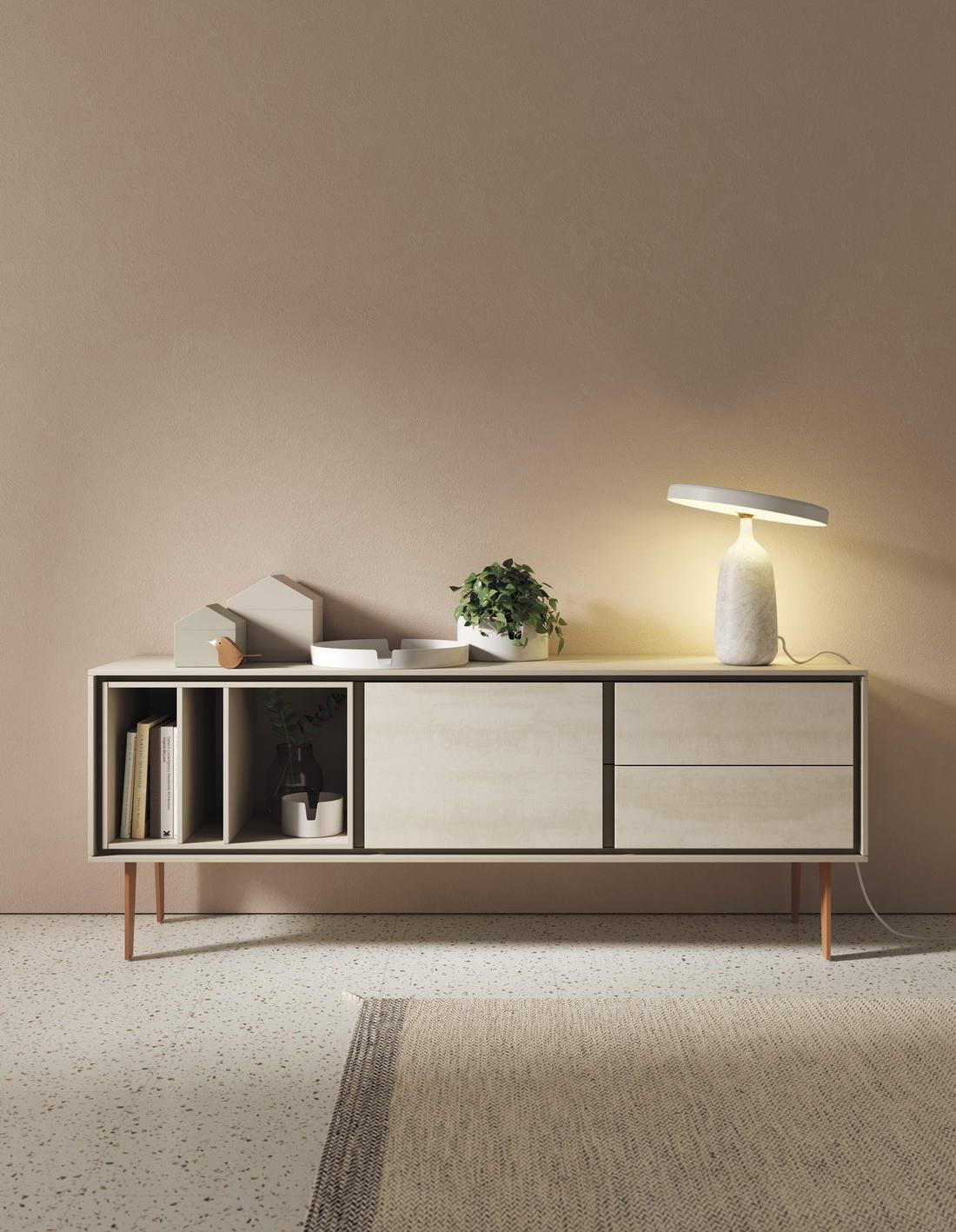 Muebles de salón moderno en Zaragoza