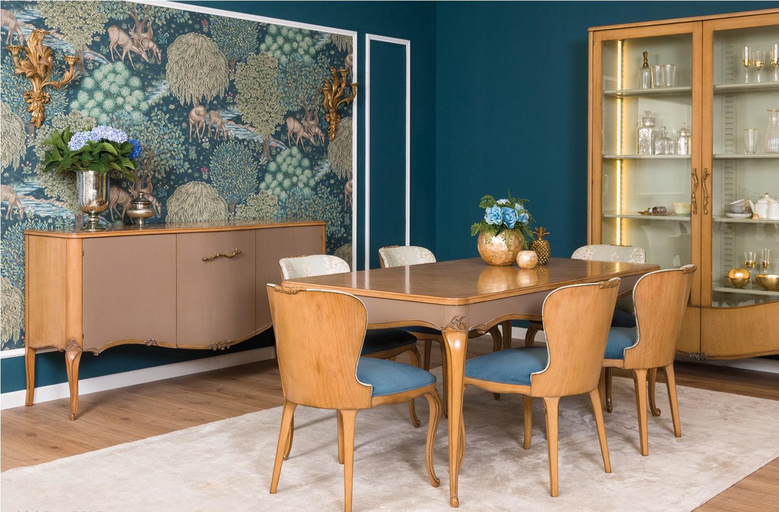 muebles de Salón clásico 8