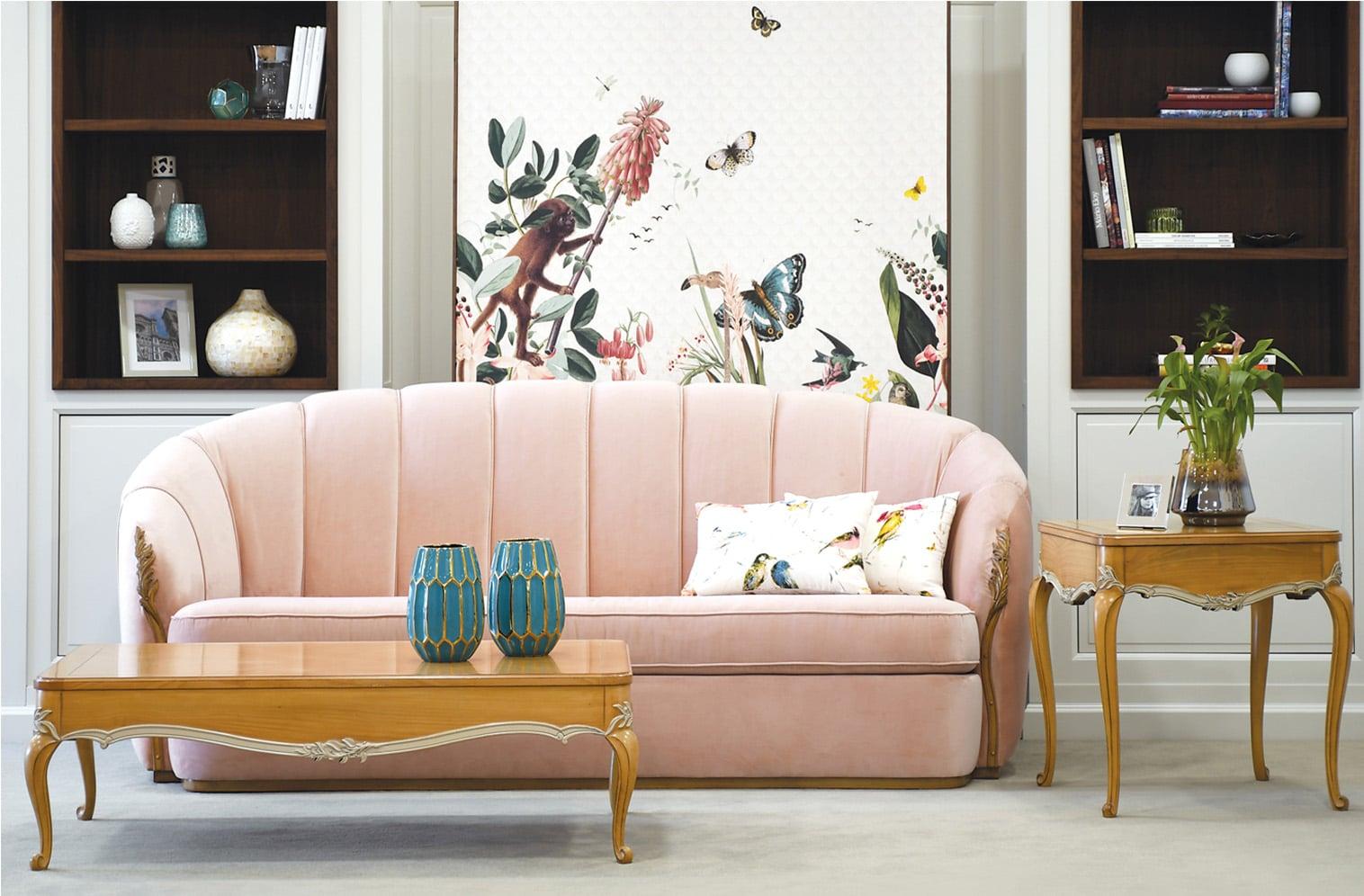 muebles de Salón clásico 9