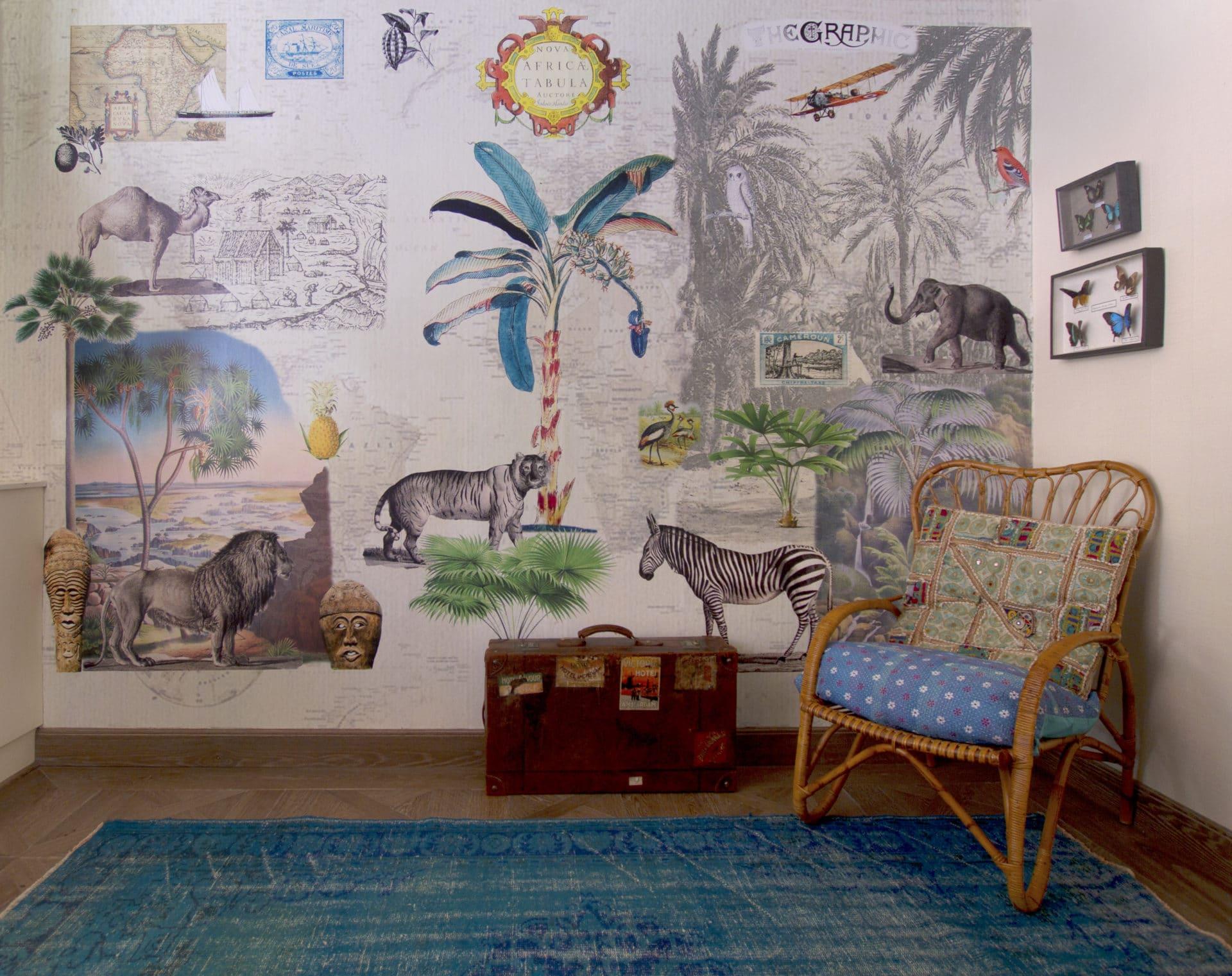 Papel Pintado Infantil En Zaragoza R Stica Ambientes ~ Papel Para Habitaciones Juveniles