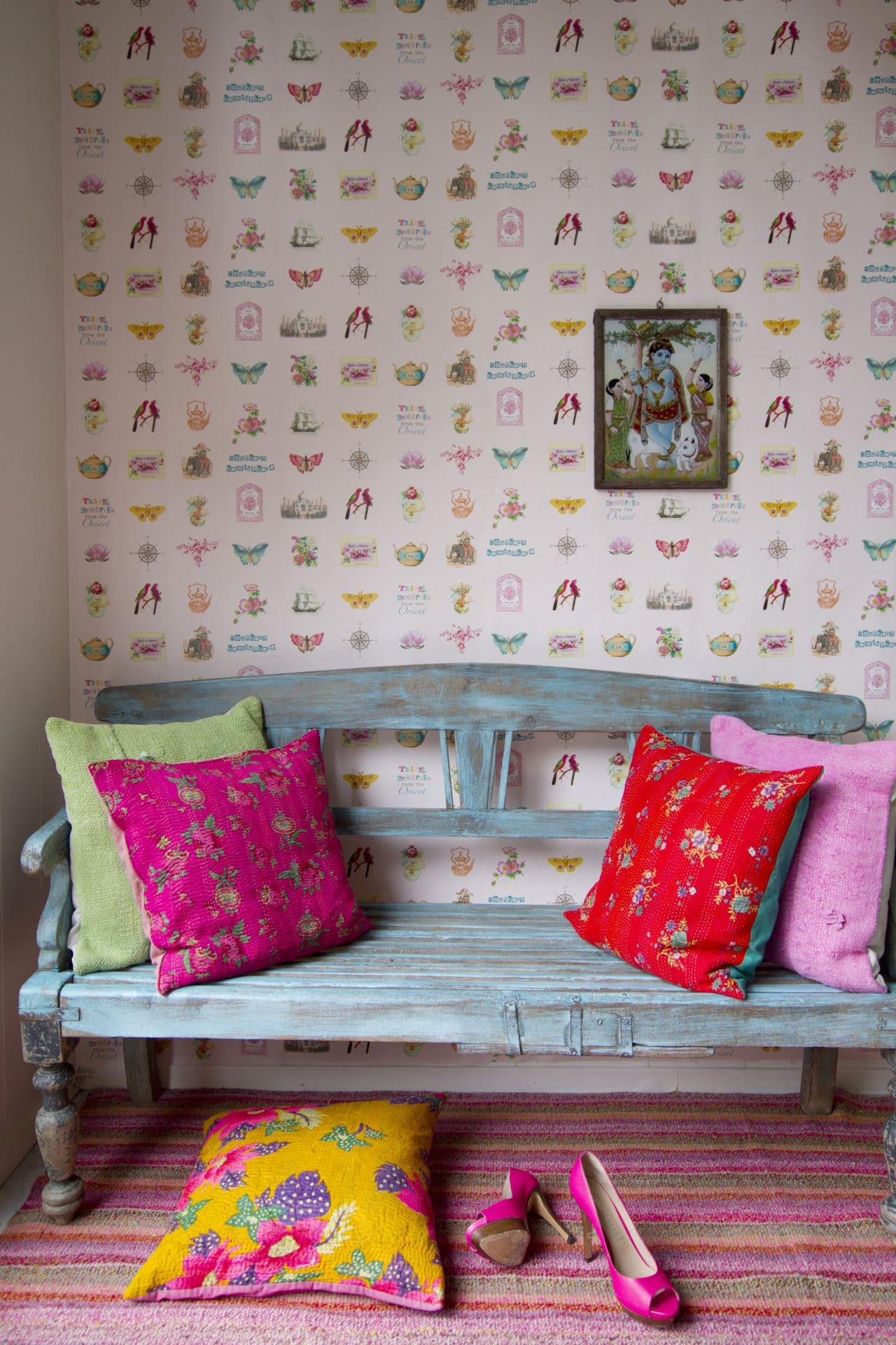 Papel Pintado Infantil En Zaragoza R Stica Ambientes ~ Habitaciones Juveniles Con Papel Pintado