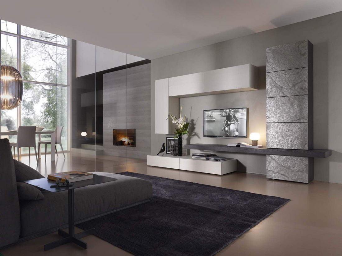 Muebles de sal n de dise o en zaragoza r stica ambientes - Diseno de salon ...