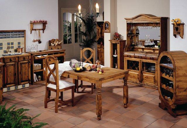 Muebles De Cocina Rusticas. Top Cocinas De Casas De Campo De Madera ...