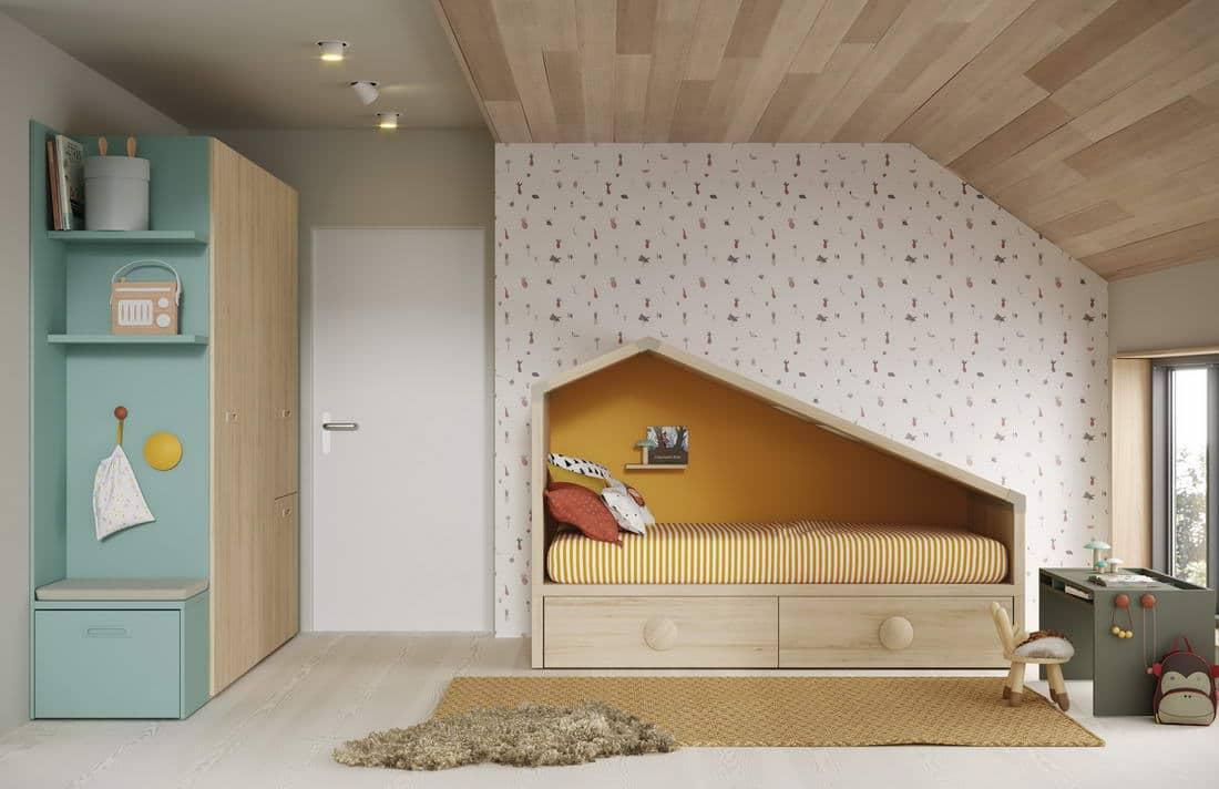 Muebles Juveniles E Infantiles Modernos En Zaragoza